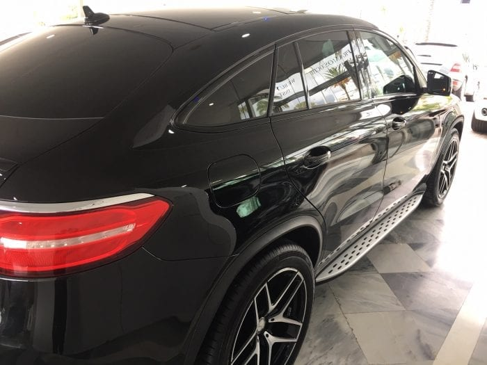 MERCEDES-BENZ GLE 350 COUPE AMG 16