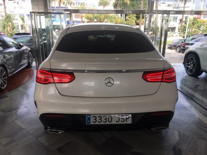 Mercedes Benz GLE AMG Coupe Blanco 13