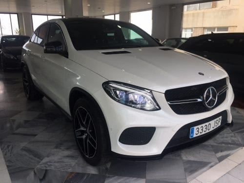 Mercedes Benz GLE AMG Coupe Blanco 2